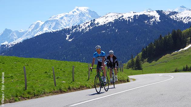 Séjour cyclo à Megève