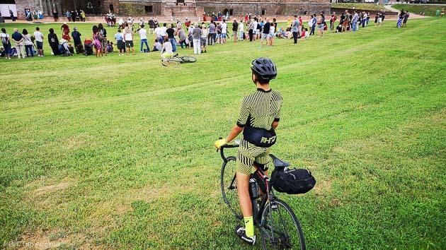 Séjour vélo de route backpaking dans le Val de Loire en France
