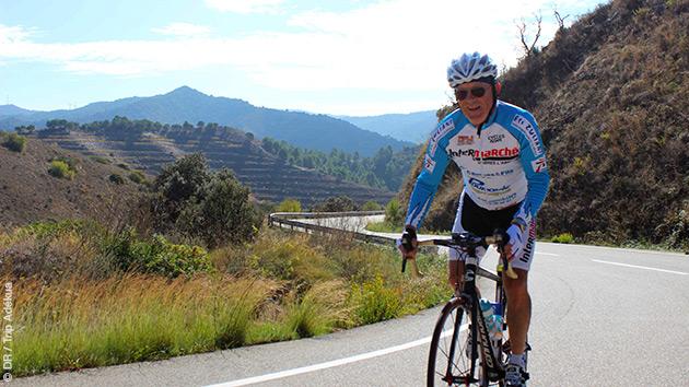 le choix de son vélo de route est primordiale même pendant un stage cycliste à l'étranger