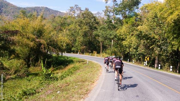 Séjour vélo en Thaïlande
