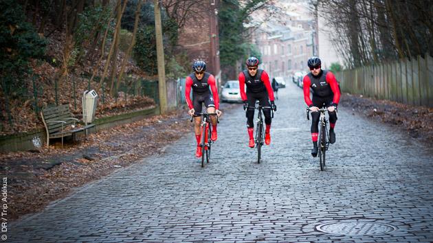 Séjours cyclistes en Belgique sur les parcours des Classiques Ardennaises, avec Thomas et Trip Adékua
