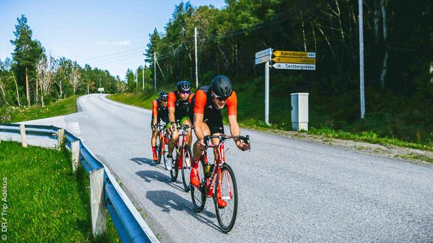 séjour cyclo en Norvège