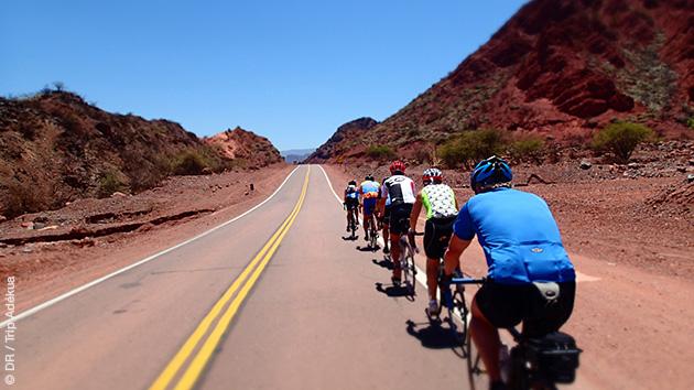 L'Argentine à vélo, sur les routes de montagnes andines et au coeur des canyons
