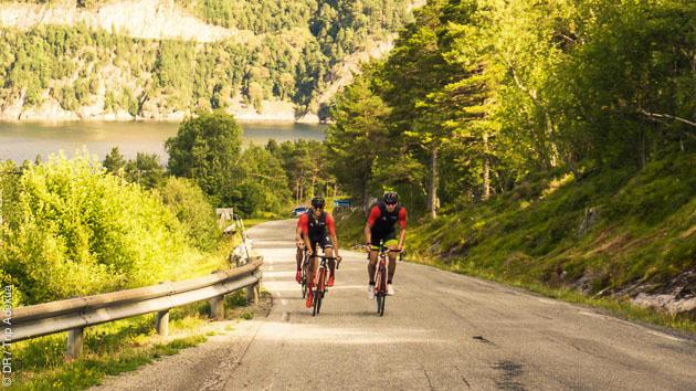 Des parcours cyclistes sur les routes de Norvège, dans des conditions de sécurité et de confort optimales