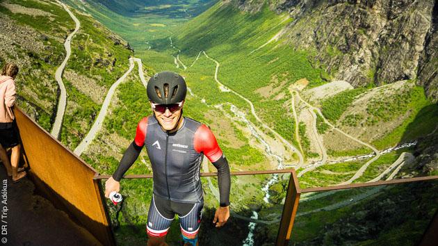 Entre fjords et col de montagnes de Norvège, vous passez un séjour cycliste réussi au départ d'Orkanger
