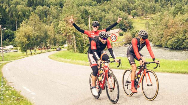 La satisfaction d'un séjour cyclo réussi en Norvège !
