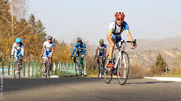 Circuit vélo itinérant sur la Route de la Soie en Ouzbekistan