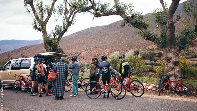 Une aventure à vélo entre le Maroc et la France, avec un véritable encadrement tout au long du parcours