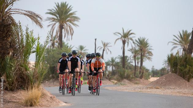 30 jours de vélo entre Maroc et France, avec hébergement sélectionnés en gîtes et maisons d'hôtes