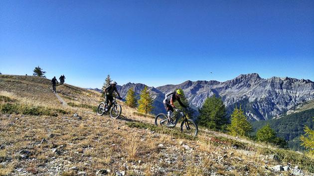 VTT et détente sur les sentiers des Hautes-Alpes