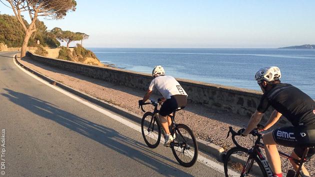 Sur les bords de la Méditerranée, un séjour vélo de 4 jours avec un ancien cycliste pro