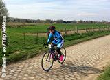 Jour 1 : Les premiers tours de roues sur les magnifiques pavés de Paris-Roubaix - voyages adékua