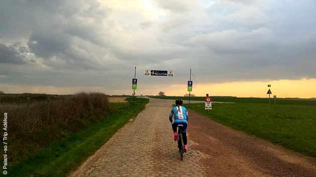 Vivez des moments forts lors de ce stage cycliste Paris-Roubaix en avril 2017
