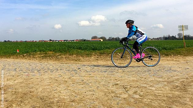 Un séjour encadré par un ancien coureur cycliste professionnel sur le Paris Roubaix