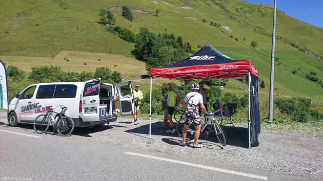 Assitance et ravito pour votre séjour cyclo dans les Pyrénées