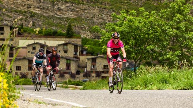 6 jours de vélo de cyclotourisme sur les routes d'Andorre