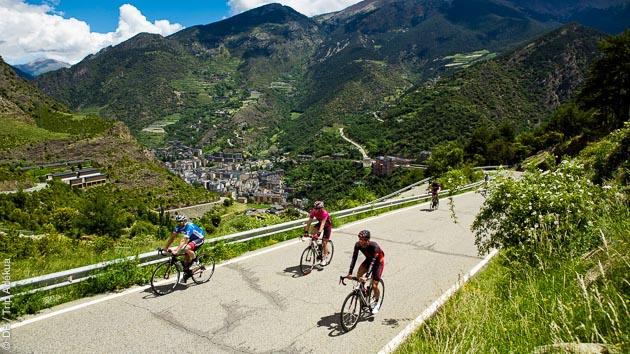 Découvrez la principauté d'Andorre en vélo de route