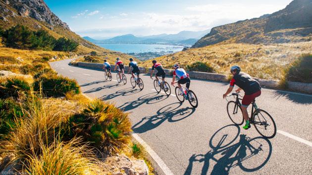 Un séjour vélo de route idéale pour découvrir les Baléares
