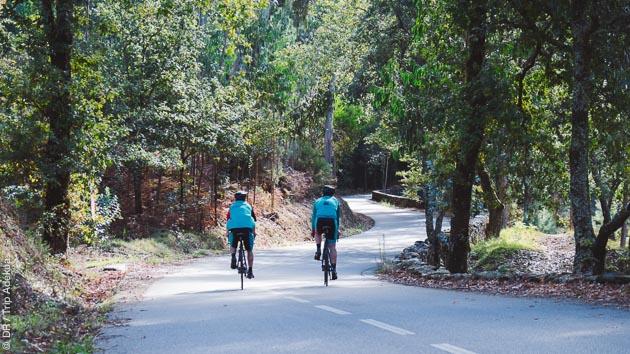 Une variété de circuits vous attend pendant ce séjour cyclo au Portugal, entre montagne et bord de mer