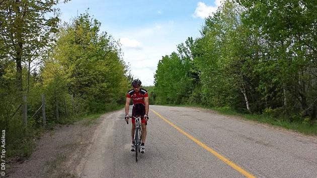 Sillonnez à vélo les montagnes du Parc National de Mont Tremblant, au Canada