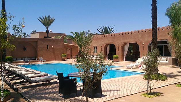 Une pause détente après vos découvertes des alentours de Marrakech en vélo de route