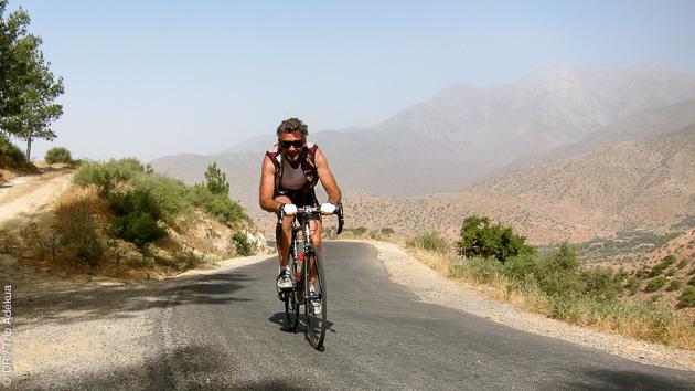 Superbe séjour vélo de route au Maroc, entre mer et montagne.