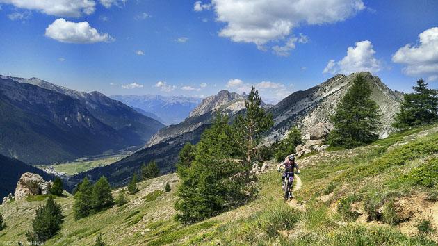 Roulez sur les plus beaux circuits VTT du massif du Queyras