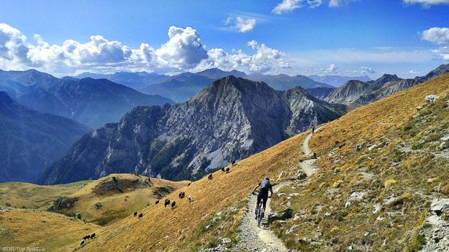 Roulez sur les plus beaux itinéraires VTT des Hautes-Alpes