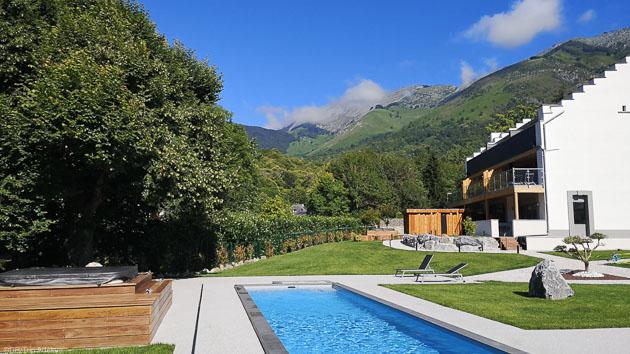 Un séjour vélo en résidence hôtelière 5 étoiles dans les Pyrénées