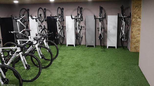 Une résidence hôtelière 5 étoiles pour un séjour vélo grand luxe