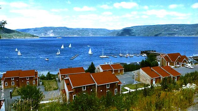 Des hébergements tous confort le long de votre itinéraire à vélo au Québec