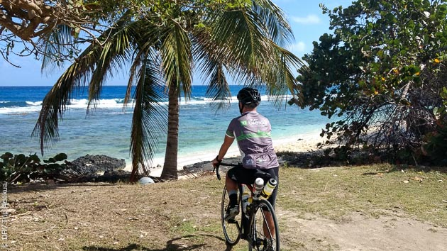 Séjour vélo en Guadeloupe, entre plage et montagnes