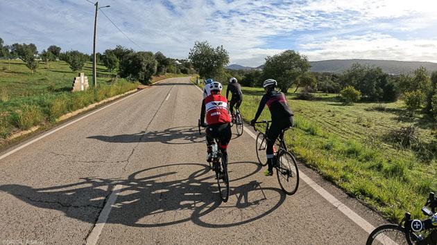 Un séjour vélo avec hébergement, guide et assitance sur les routes de l'Algarve