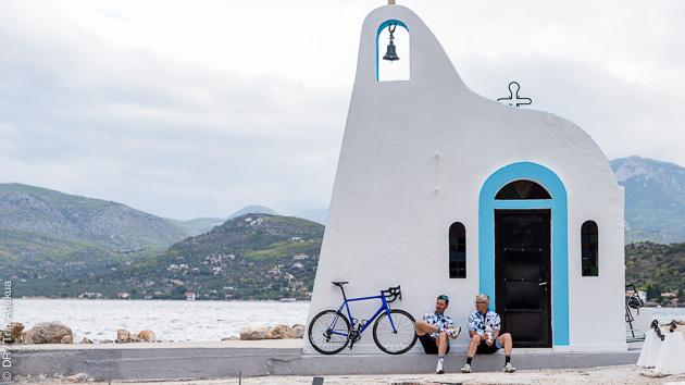 Stage exceptionnel vélo de route en Grèce avec hébergement et location de vélo
