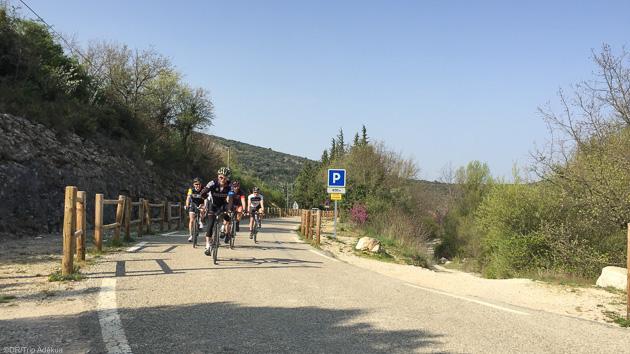Un séjour cyclo sur les plus belles routes de Provence