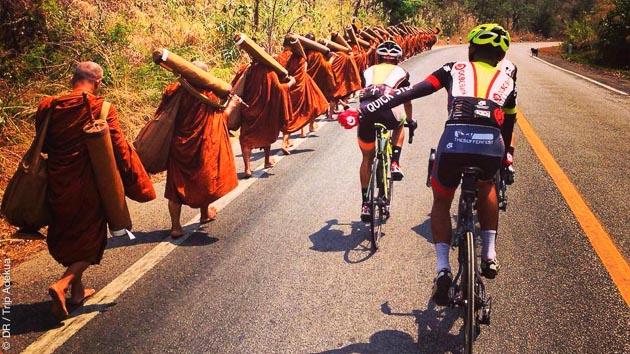 Stage vélo de route dans le nord de la Thaïlande