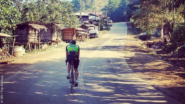 Tous types de routes et de difficultés pour ce stage vélo en Thaïlande