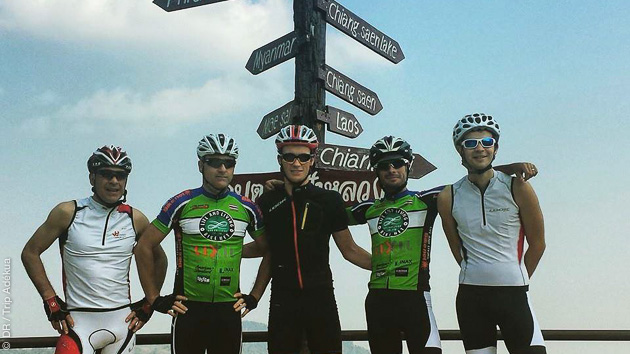 Encadrement de qualité pour ce stage cycliste en Tha¨lande