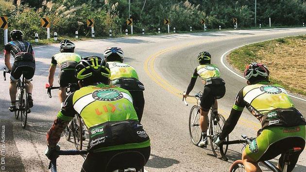 Stage vélo de route itinérant entre Chiang Rai et Chiang Mai en Thaïlande