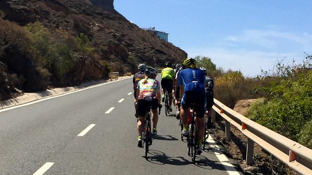 Un séjour vélo de route de rêve aux Canaries