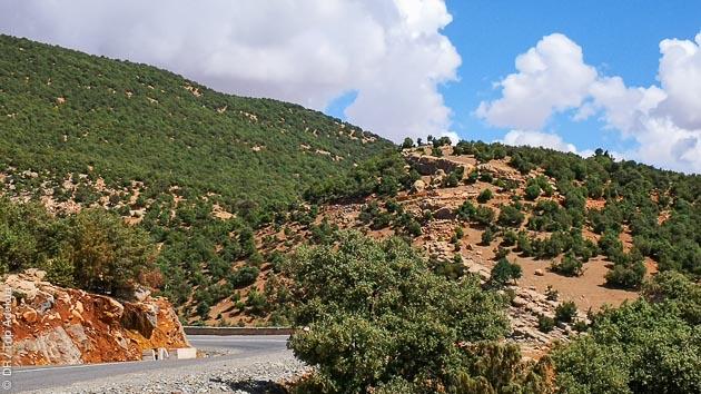 Votre circuit vélo de route face à l'Atlas au Maroc