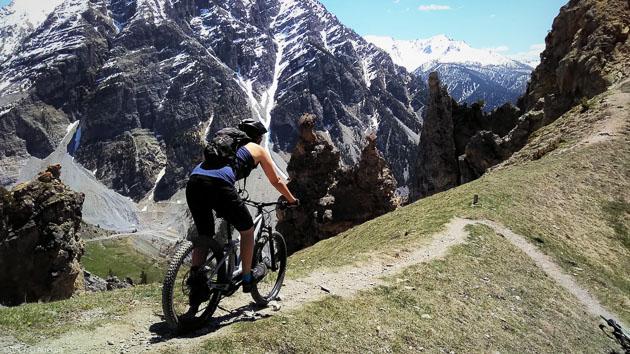 Un séjour Enduro VTTAE dans le parc des Ecrins et la vallée de Briançon