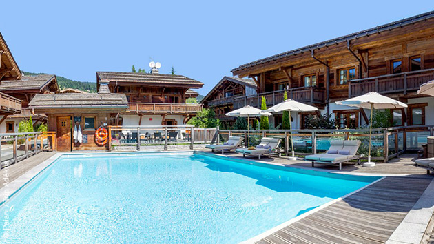 Vous êtes logés en hôtel 4 étoiles pour vous reposer après vos étapes cyclistes lors de ce séjour aux portes du Mont Blanc
