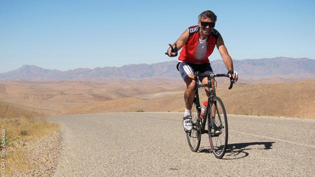 vélo de route au Maroc