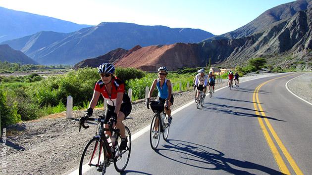 circuit vélo de route en Argentine