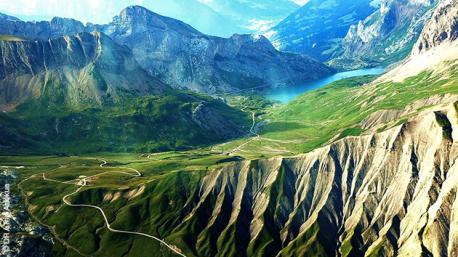 Superbe circuit à vélo dans les Alpes Suisses