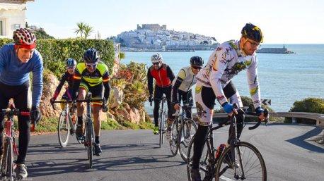 Découvrez les plus belles routes d'Espagne pendant votre séjour vélo à Peniscola