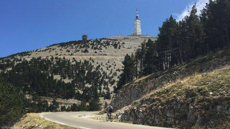 Votre séjour cyclo sur les routes du Mont Ventoux
